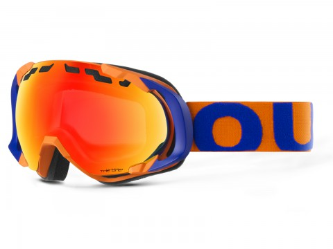 MASCHERA EDGE BLUE ORANGE THE ONE FUOCO