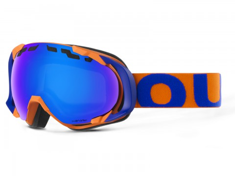 MASCHERA EDGE BLUE ORANGE THE ONE GELO