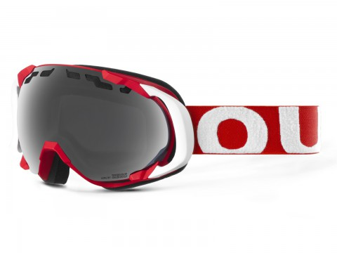 EDGE RED WHITE SILVER GOGGLE