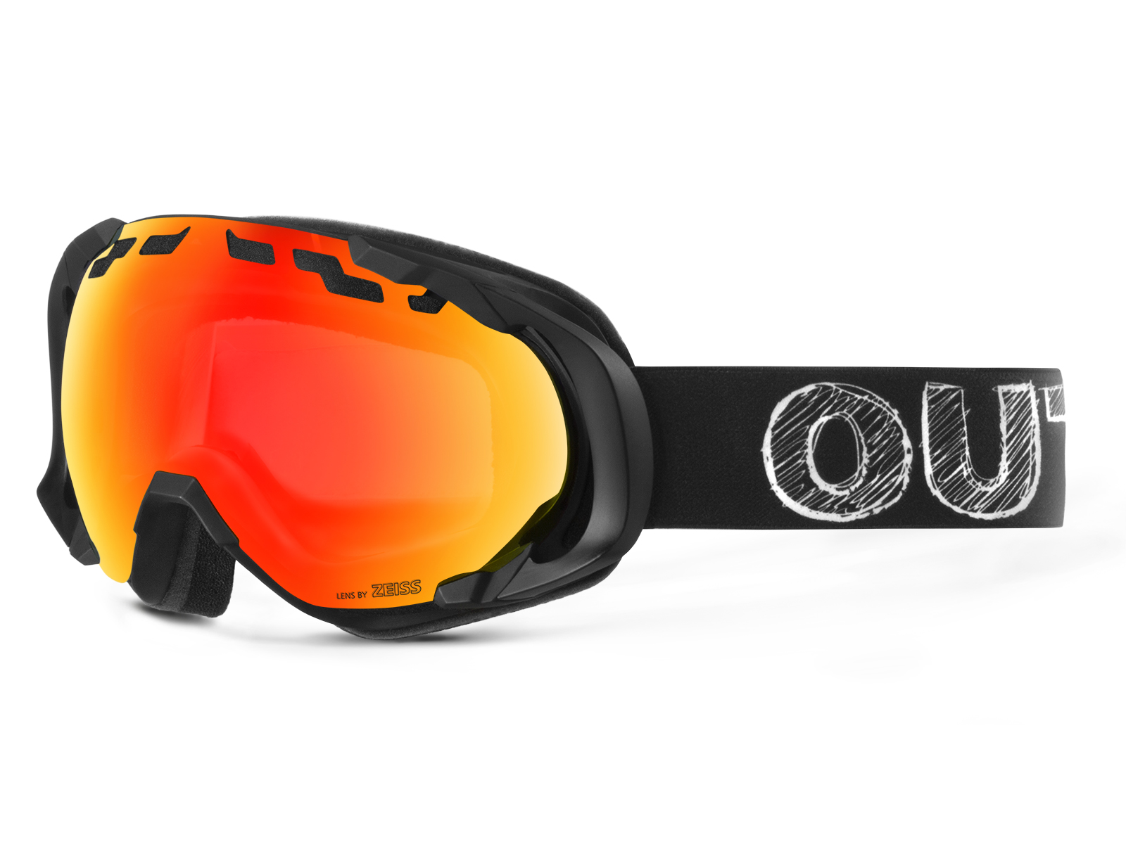 EDGE BLACKBOARD RED MCI GOGGLE