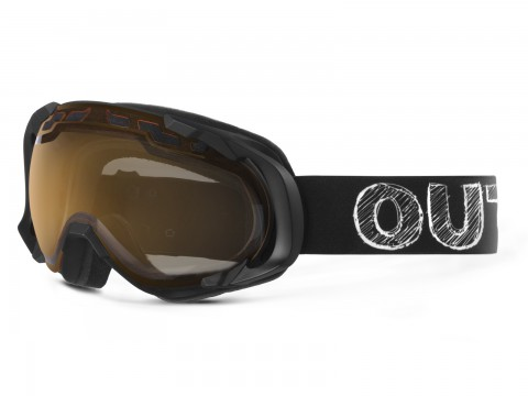 EDGE BLACKBOARD PERSIMMON GOGGLE