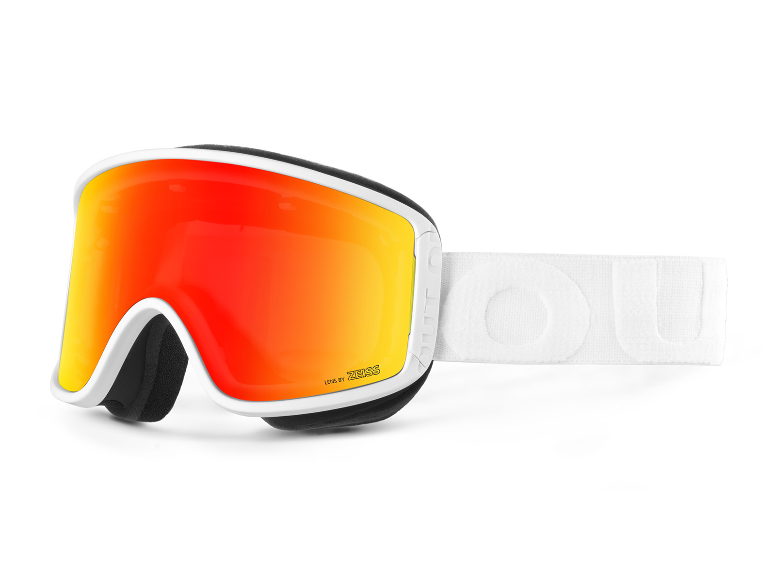 SHIFT WHITE RED MCI GOGGLE