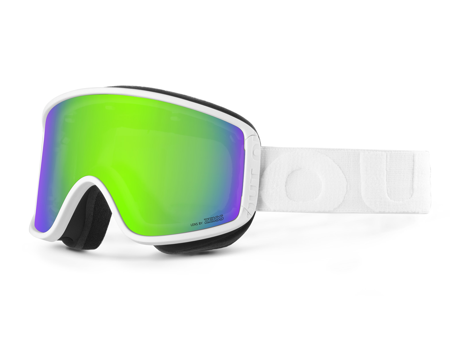 SHIFT WHITE GREEN MCI GOGGLE