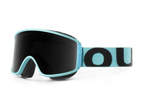 SHIFT TURQUOISE SMOKE GOGGLE