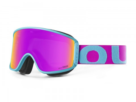 SHIFT TURQUOISE PINK VIOLET MCI GOGGLE