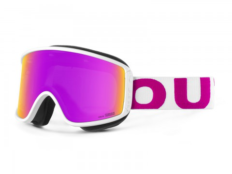 SHIFT WHITE PINK VIOLET MCI GOGGLE