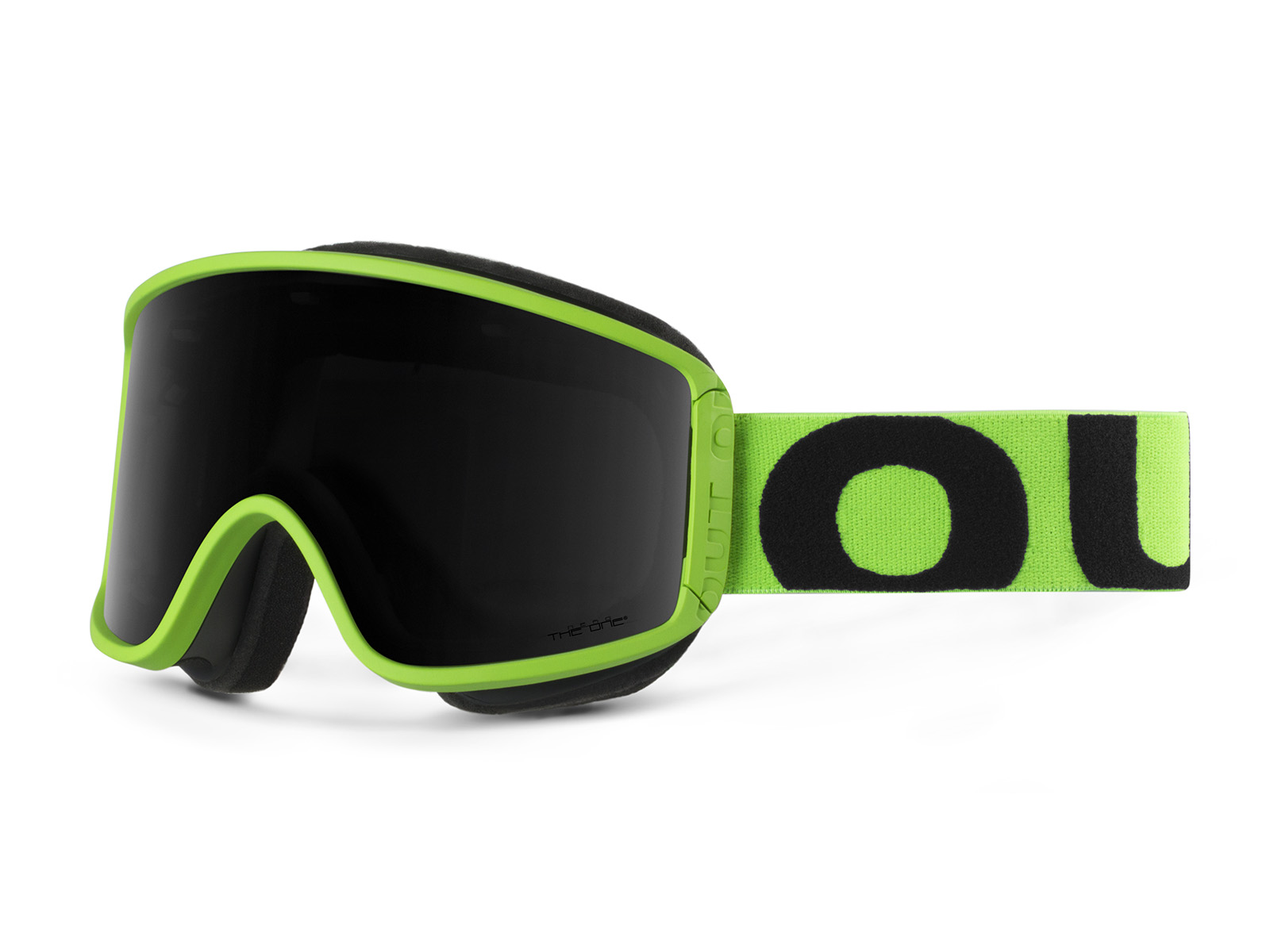 MASCHERA SHIFT FLUO GREEN THE ONE NERO