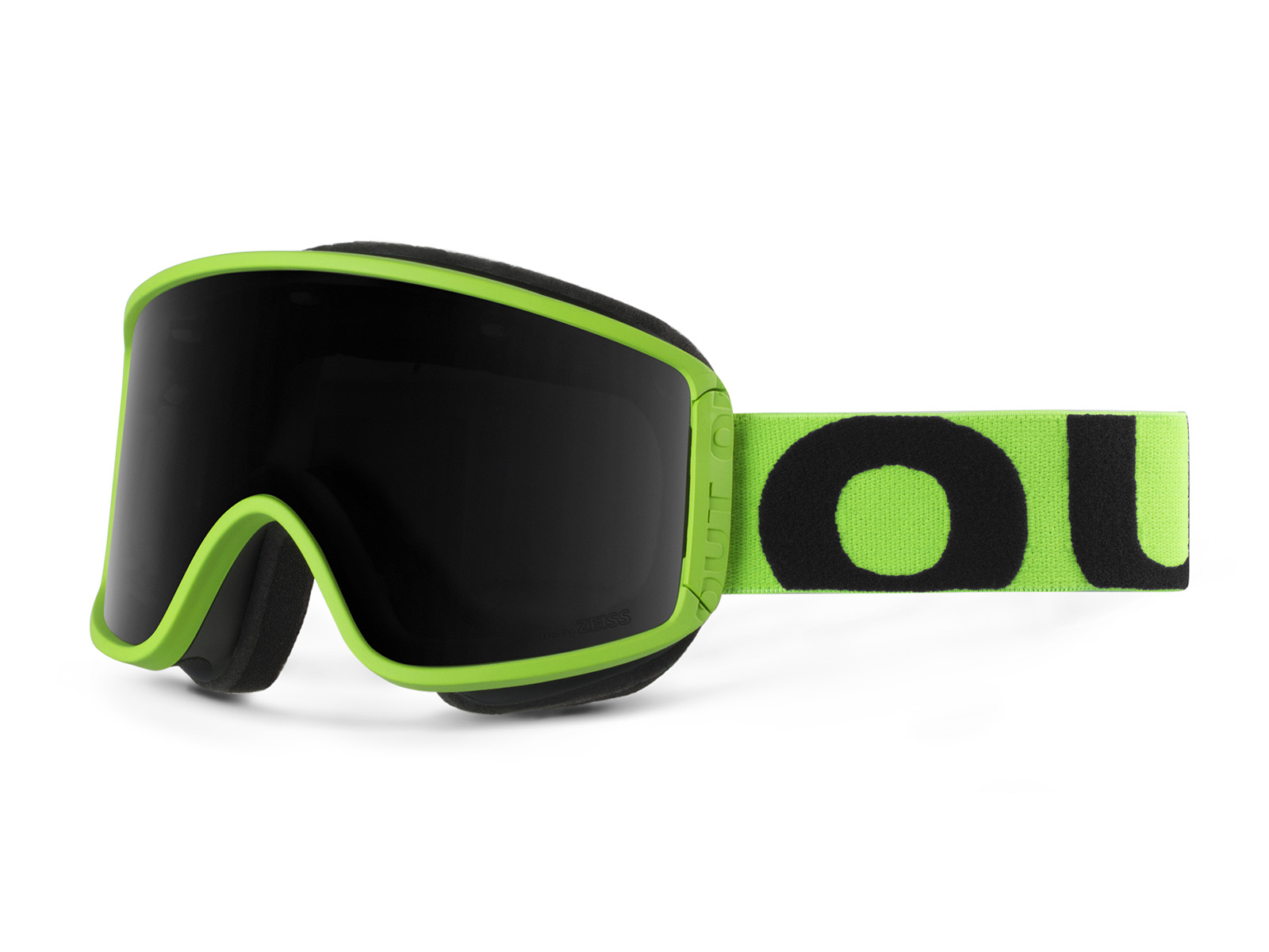 SHIFT FLUO GREEN SMOKE GOGGLE