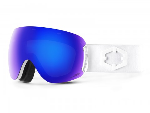OPEN WHITE BLUE MCI GOGGLE