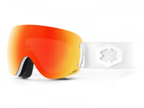 OPEN WHITE RED MCI GOGGLE