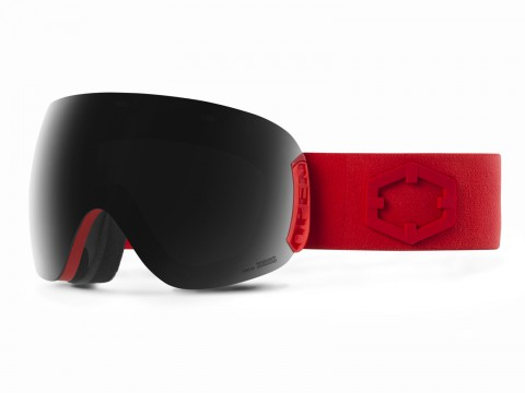 OPEN RED SMOKE GOGGLE