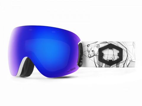 OPEN BEAR BLUE MCI GOGGLE
