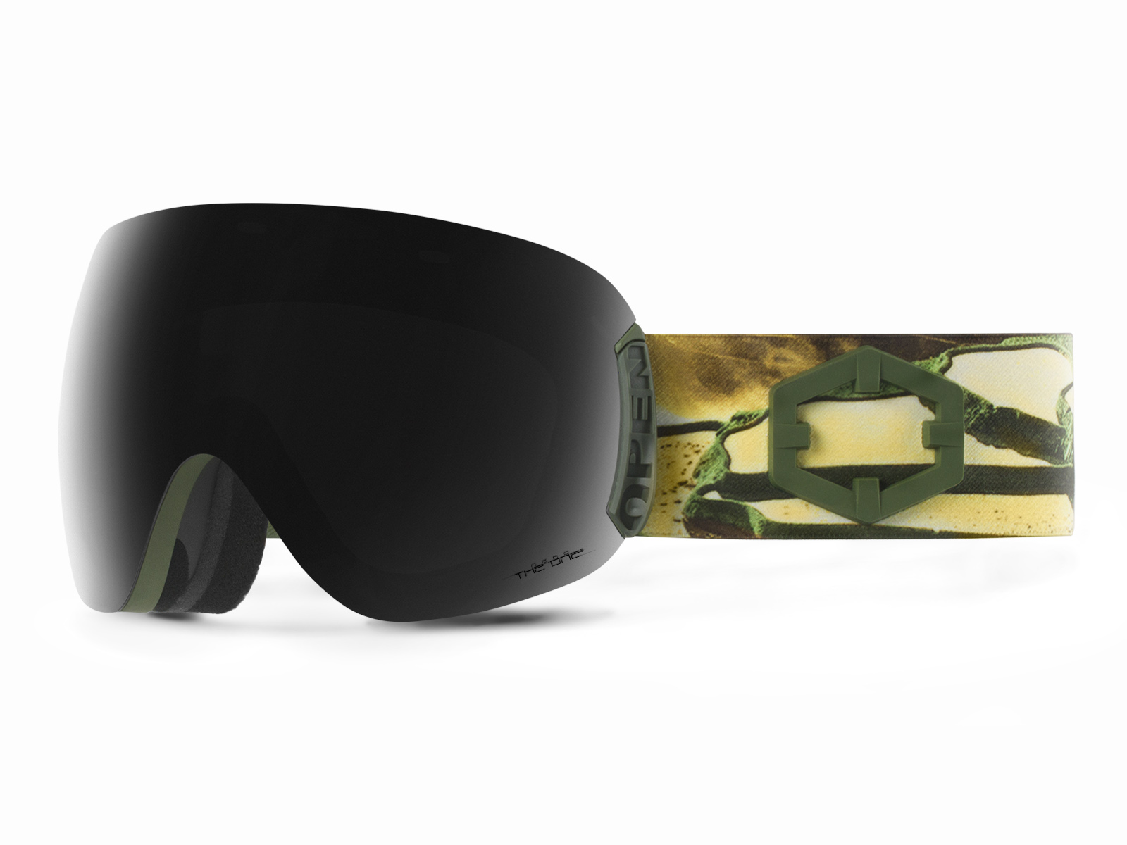 OPEN EASTERN GOLD THE ONE NERO GOGGLE