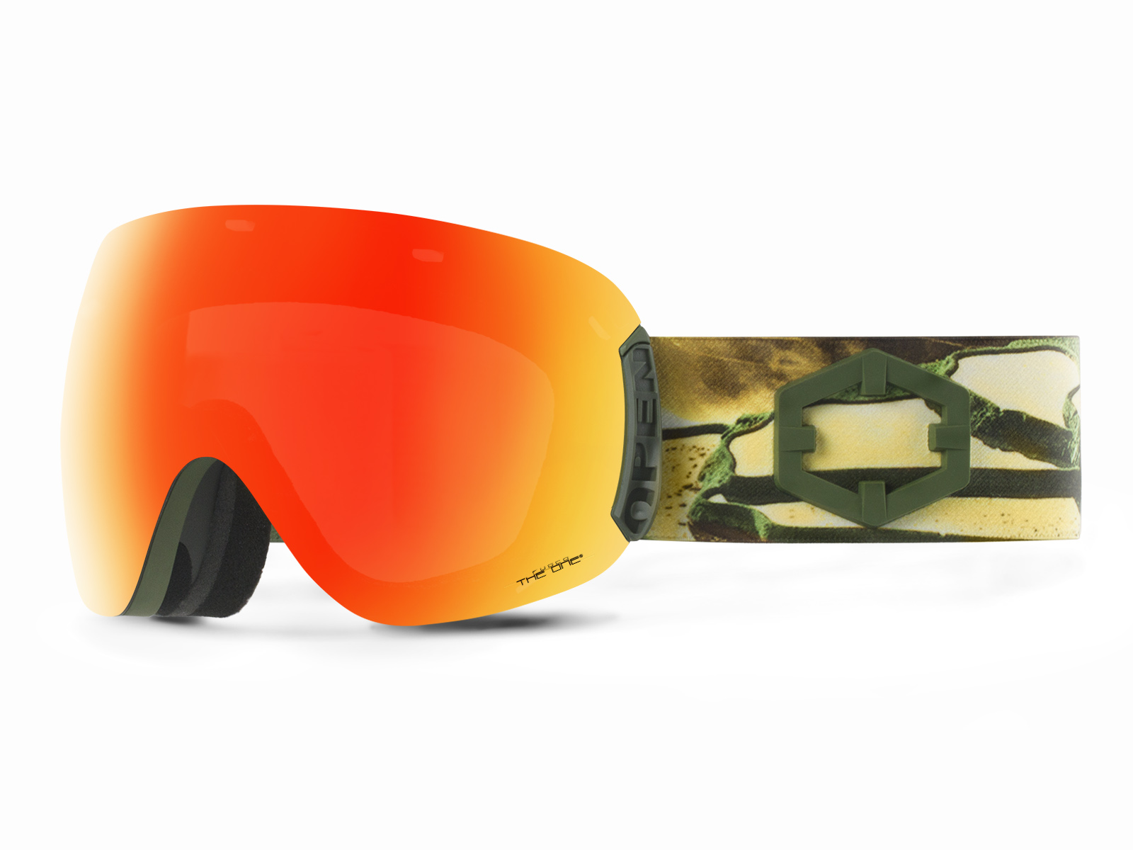 OPEN EASTERN GOLD THE ONE FUOCO GOGGLE