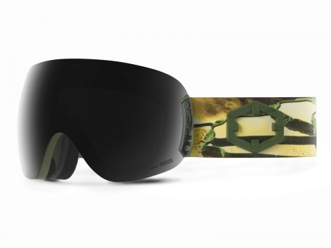 OPEN EASTERN GOLD SMOKE GOGGLE
