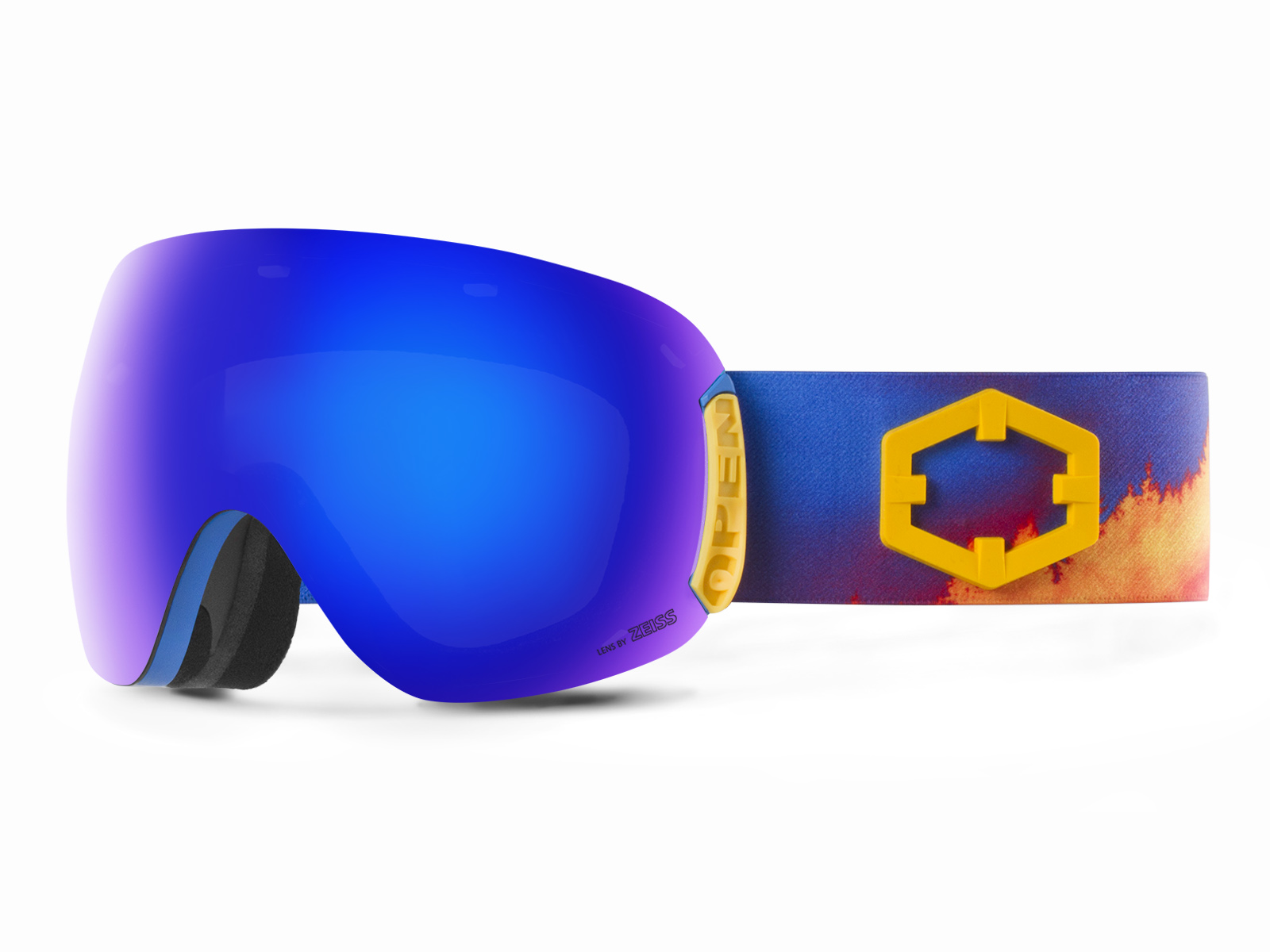 OPEN WILDFIRE BLUE MCI GOGGLE