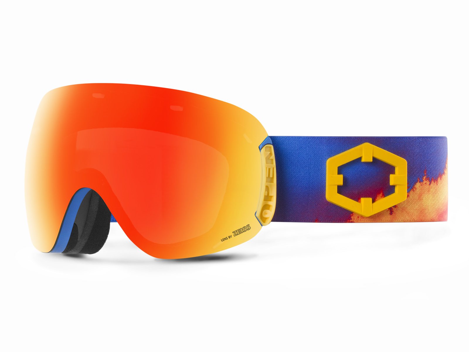 OPEN WILDFIRE RED MCI GOGGLE