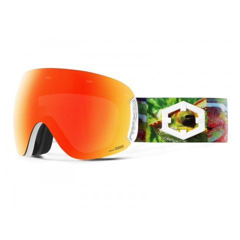 OPEN CHAMELEON RED MCI GOGGLE