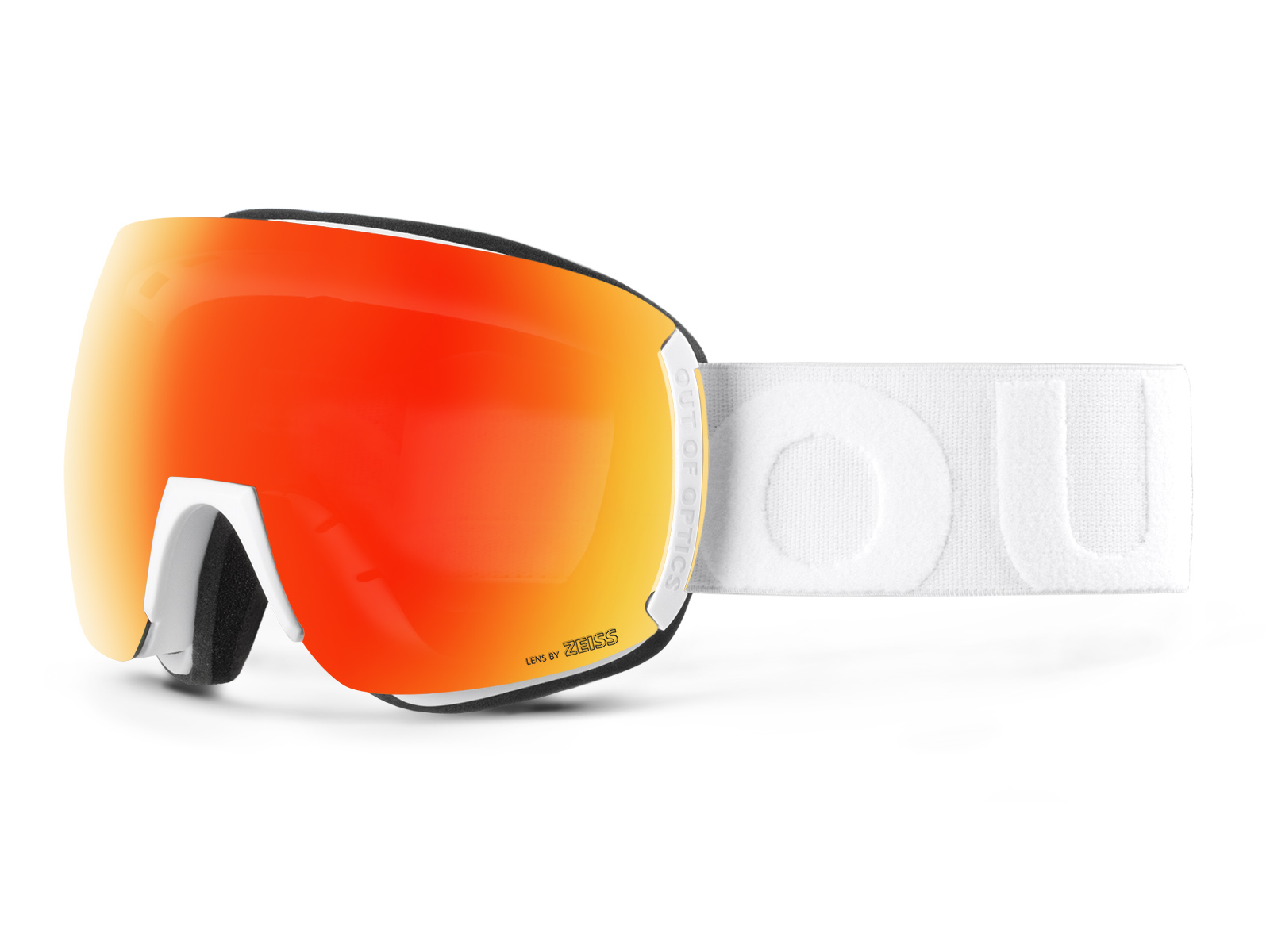 EARTH WHITE RED MCI GOGGLE