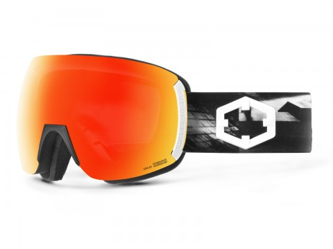 EARTH SKATE RED MCI GOGGLE