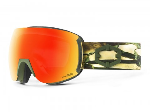 EARTH EASTERN GOLD RED MCI GOGGLE