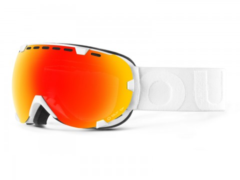 EYES WHITE RED MCI GOGGLE
