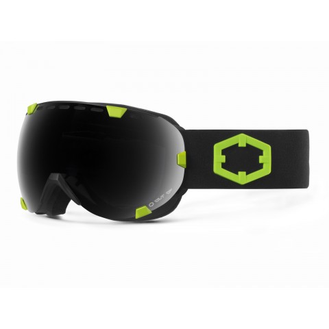 EYES BLACK GREEN SMOKE GOGGLE