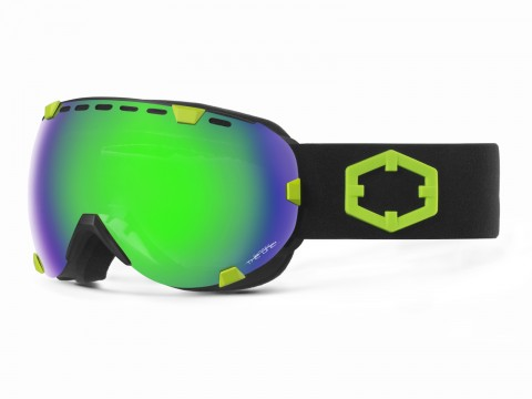 EYES BLACK GREEN THE ONE QUARZO GOGGLE