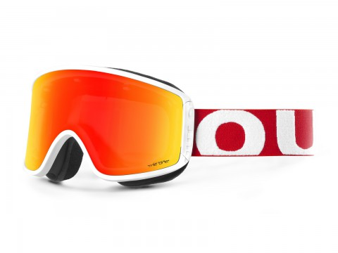 SHIFT RED WHITE THE ONE FUOCO GOGGLE