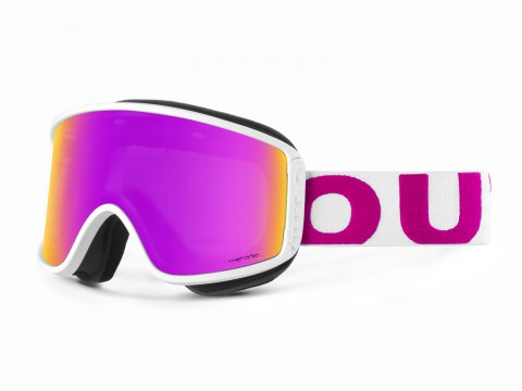 SHIFT WHITE PINK THE ONE LOTO GOGGLE