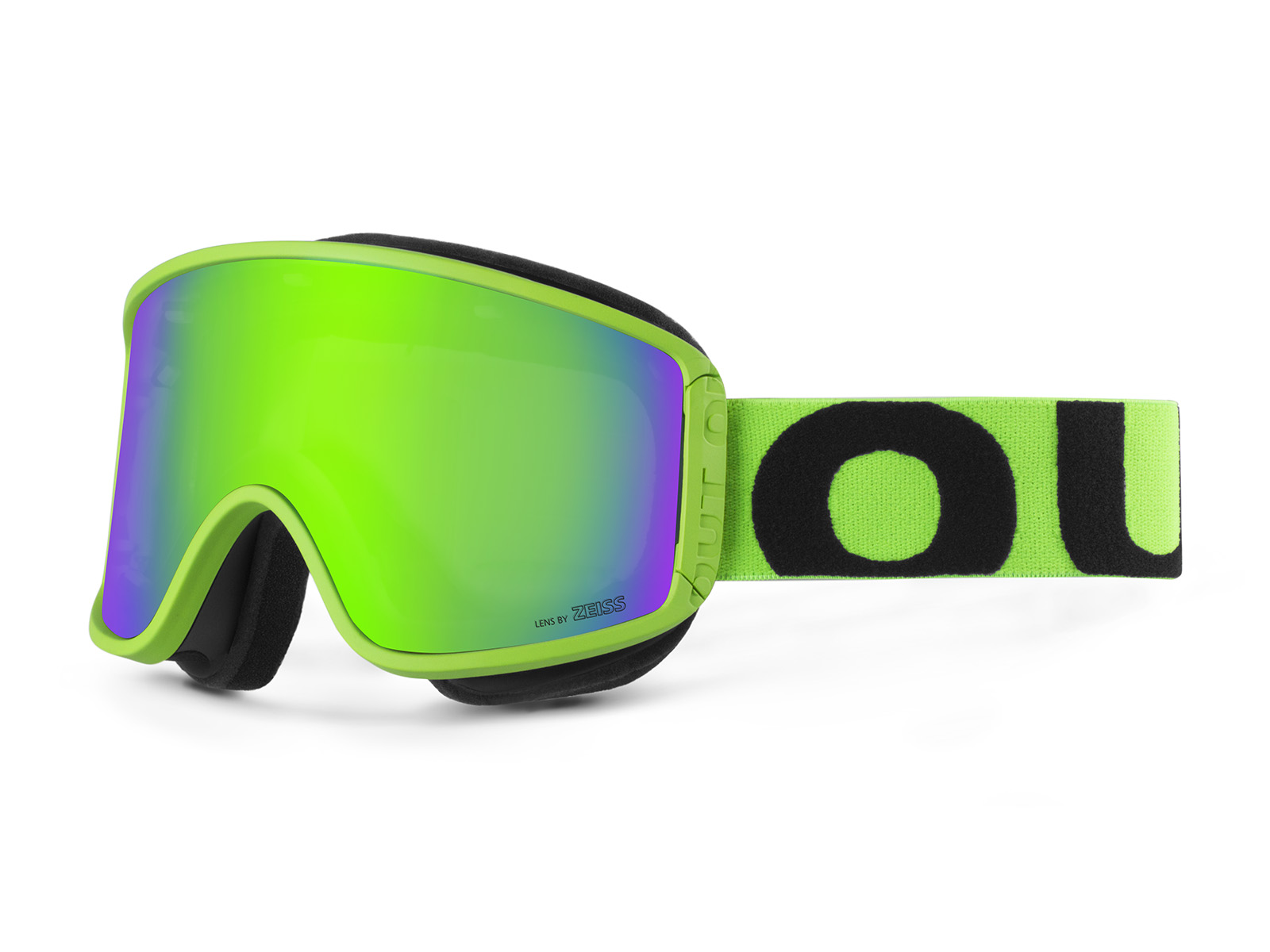 SHIFT FLUO GREEN GREEN MCI GOGGLE