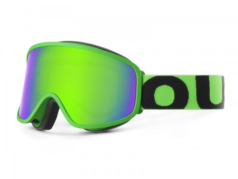 FLAT FLUO GREEN GREEN MCI GOGGLE