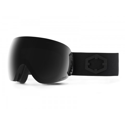 Open Black Smoke goggle