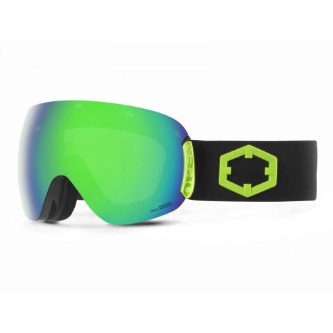 Open Black green Green mci goggle