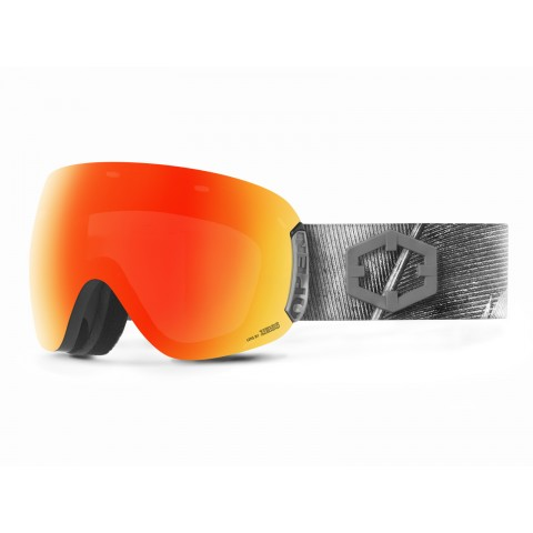 Open Feather Red mci goggle