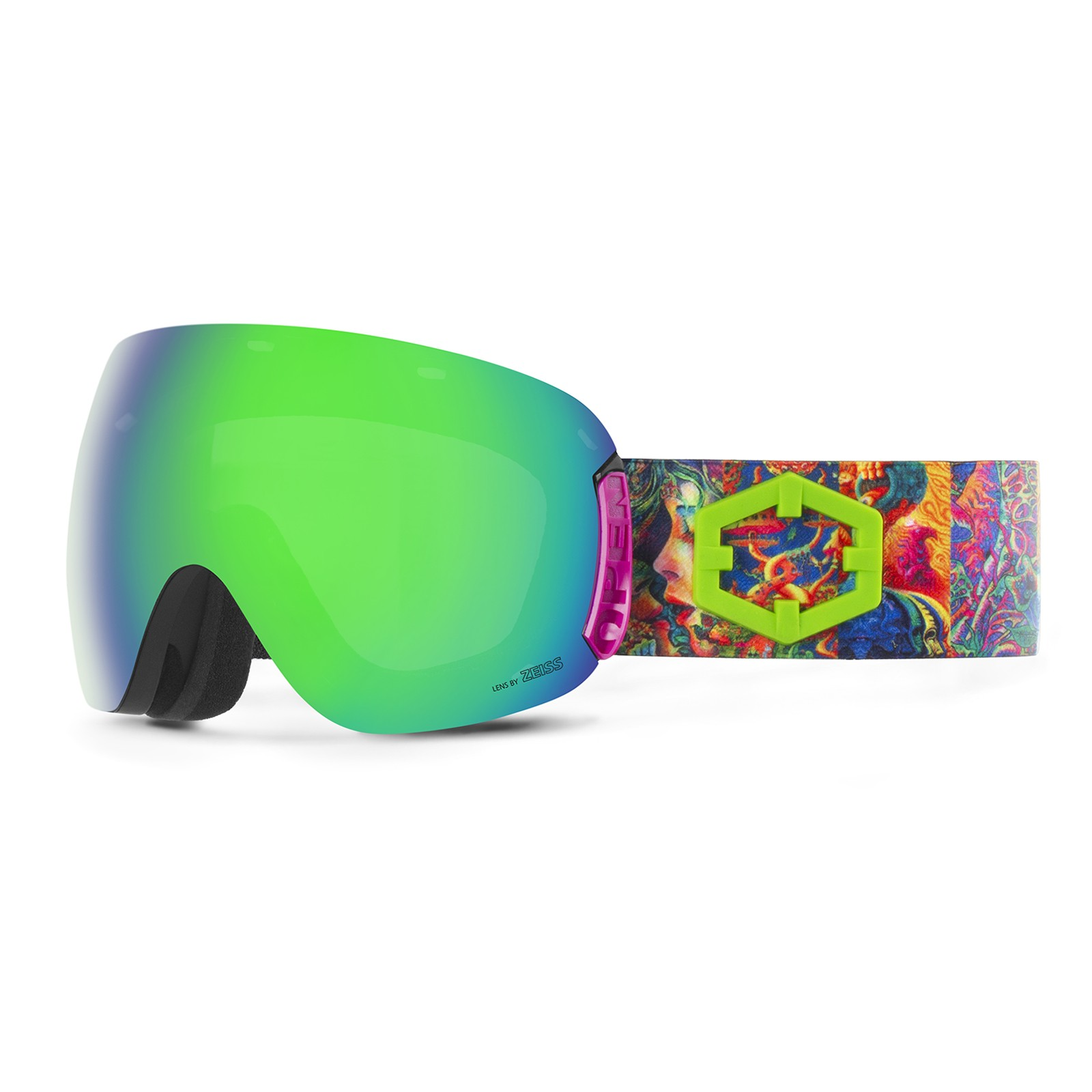 Open Lsd Green mci goggle