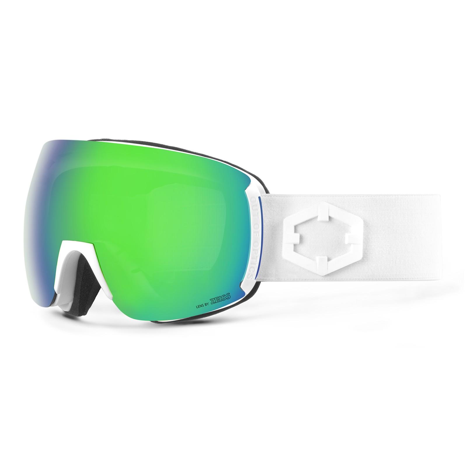Earth White Green mci goggle