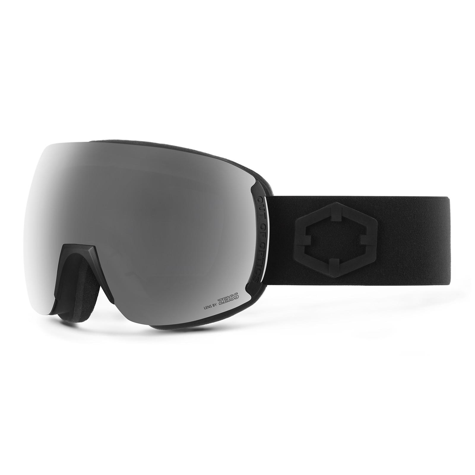 Earth Black Silver goggle