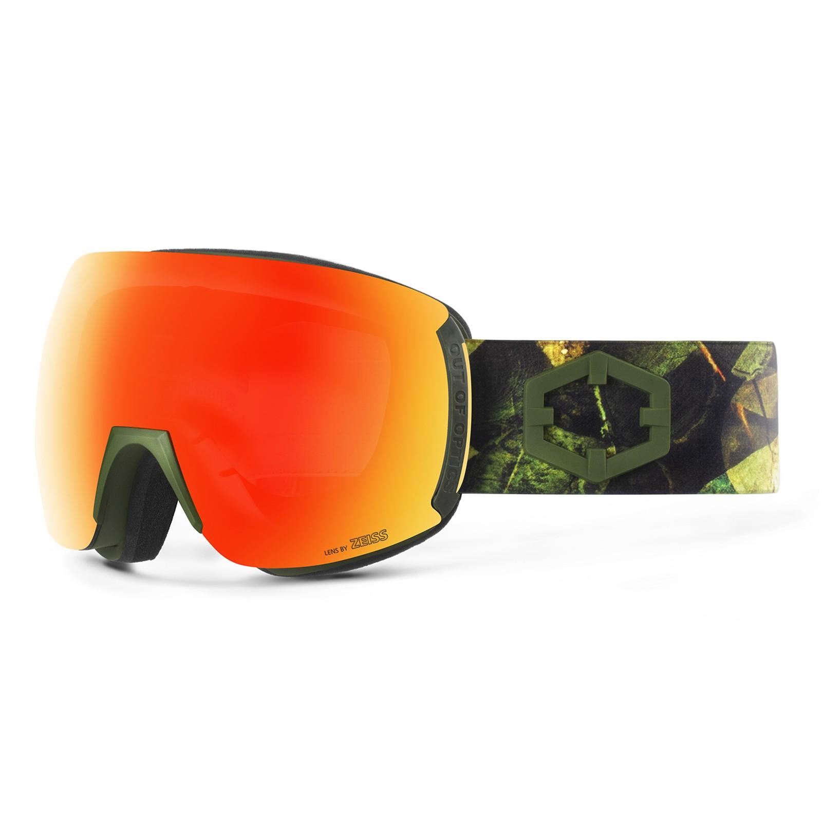 Earth Evergreen Red mci goggle