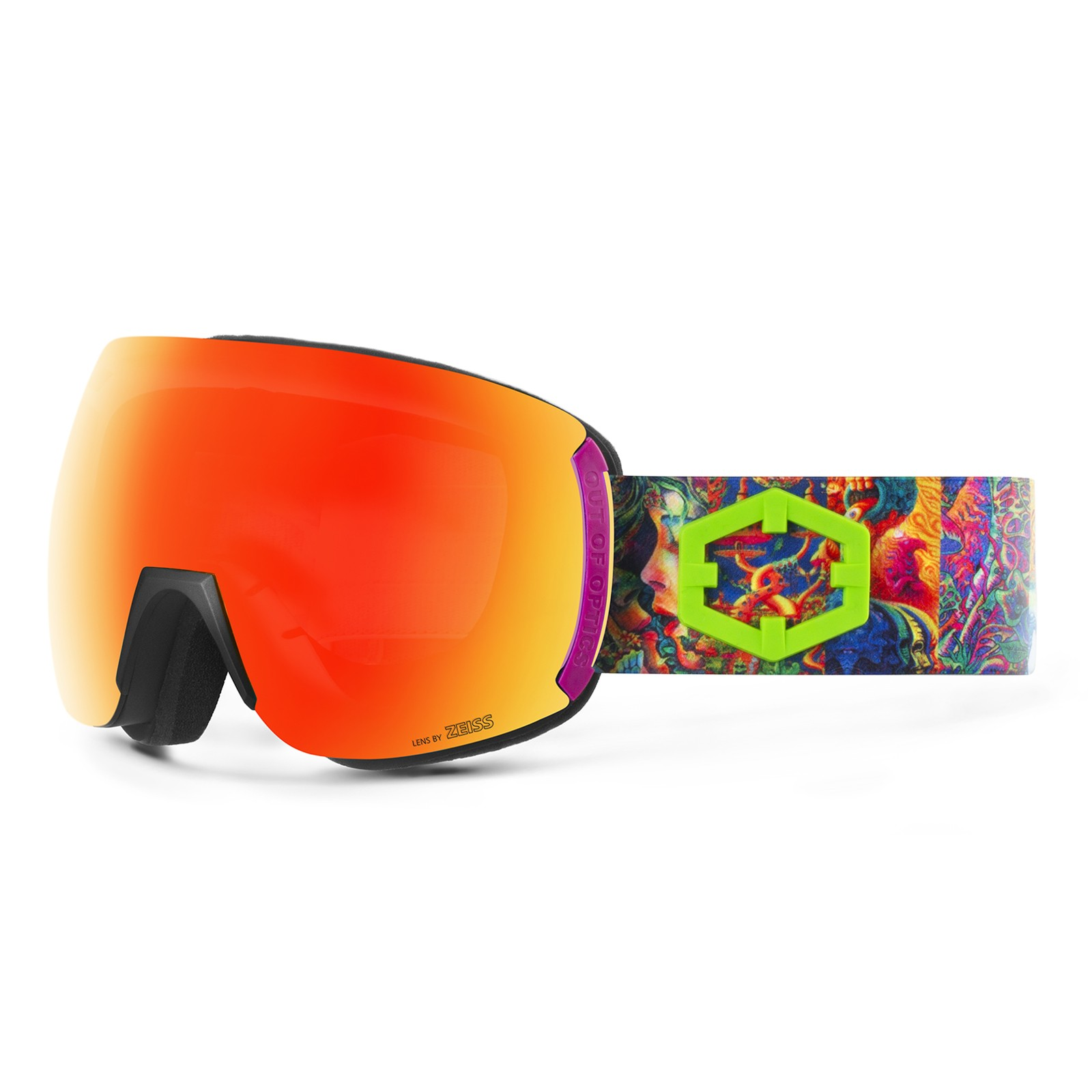 Earth Lsd Red mci goggle