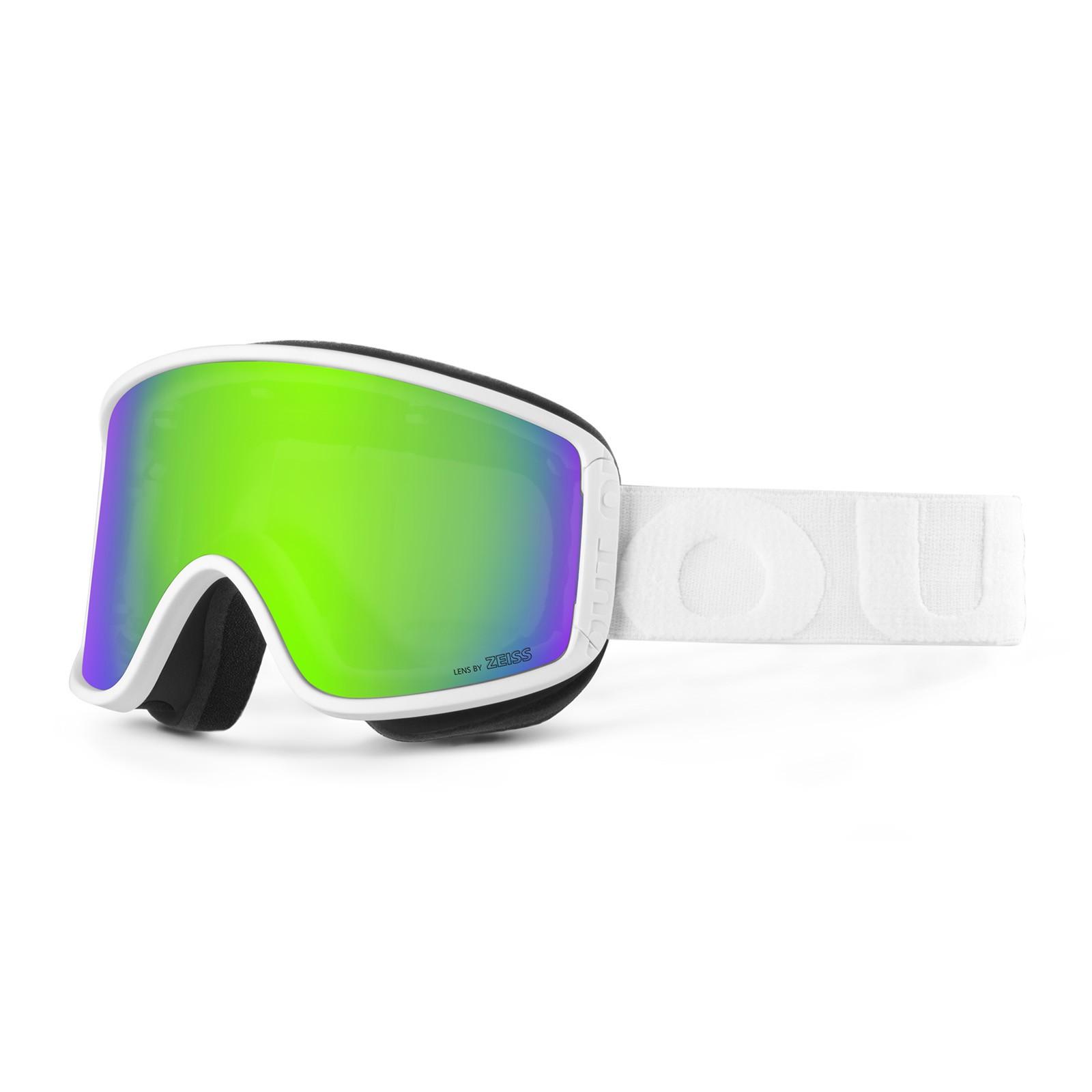 Shift White Green mci goggle