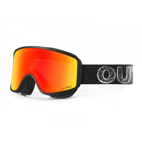 Shift Blackboard Red mci goggle