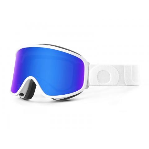 Flat White Blue mci goggle