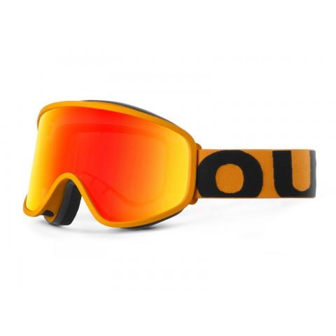 Flat Orange Red mci goggle