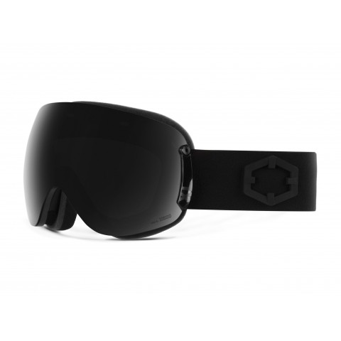 Open xl Black Smoke goggle