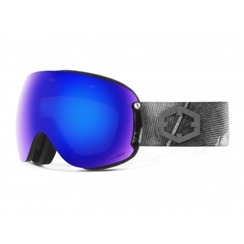 Open xl Feather Blue mci goggle