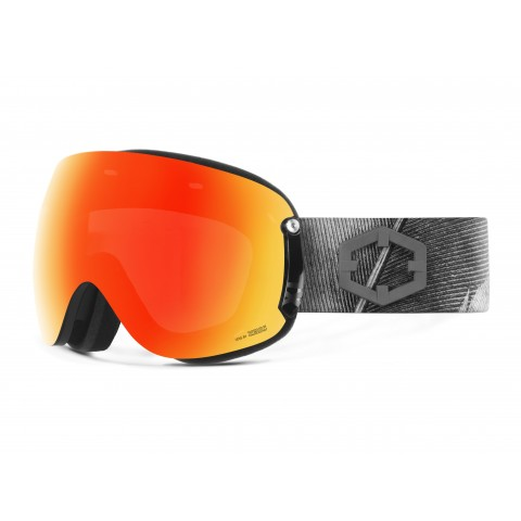 Open xl Feather Red mci goggle