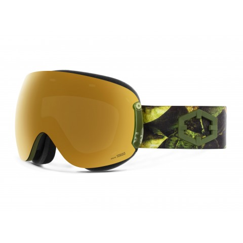 Open xl Evergreen Gold24 mci goggle