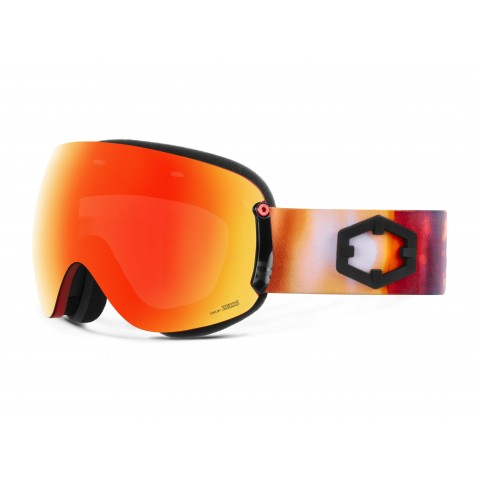 Open xl Alba Red mci goggle