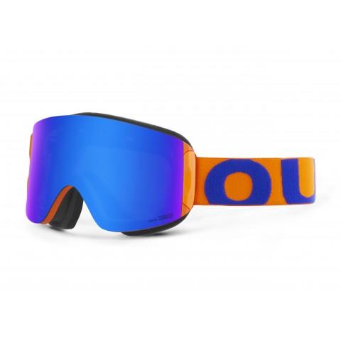 Katana Blue orange Blue mci goggle